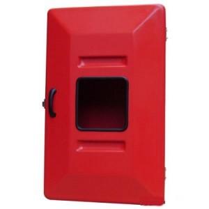 """Abrigo para Mangueira Interno/Externo - Fibra - (A)75 x (L)45 x (P)18 cm - 1 Porta - Comporta 1 mang de 15 mts 1 1/2"""""""