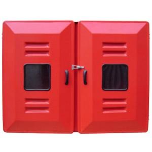 """Abrigo para Mangueira Interno/Externo - Fibra - (A)90 x (L)120 x (P)18 - 2 portas - Comporta 2 mang 30 mts 2 1/2"""""""
