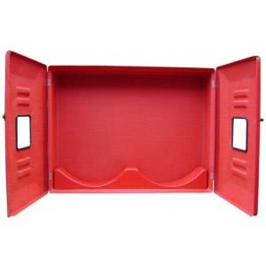 """Abrigo para Mangueira Interno/Externo - Fibra - (A)90 x (L)120 x (P)18 - 2 portas - Comporta 4 mang 15 mts 1 1/2"""""""