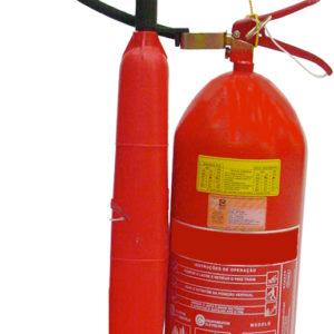 Extintor de Incêndio Portátil CO2 6 kg