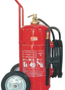 Extintor de Incêndio Sobre Rodas Espuma Mecânica 50 lts