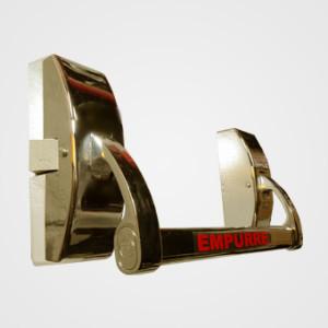 Barra Anti-pânico Push  simples - Dourada 1,0m
