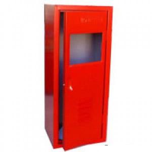 Abrigo para Extintor em Chapa de aço - 75 x 30 x 25 cm - Externo - Comporta 1 Extintor - PQS 04/06 Kg
